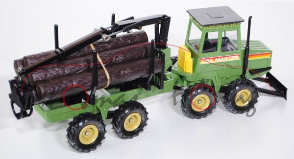 ÖSA 280 Master Forstmaschine, olivgrün, ÖSA MASTER, L11a