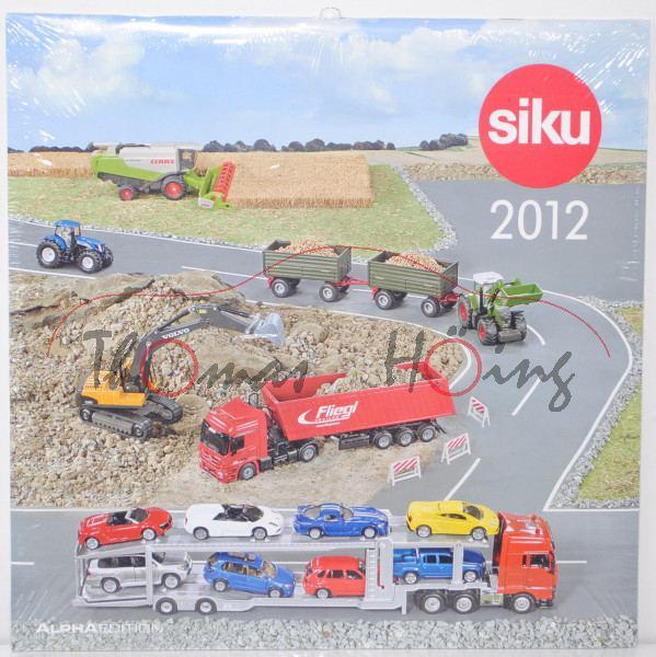 00000 Siku-Kalender 2012 (EAN 4006874092123)