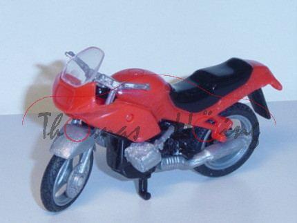 BMW R 1100 RS Motorrad, Modell 1993-2001, verkehrsrot, mit Frontscheibe