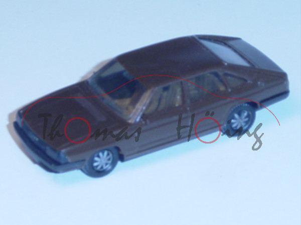 Audi 100 GL 5E Avant, Typ 43, Mj. 1977, terrabraun, Herpa, 1:87