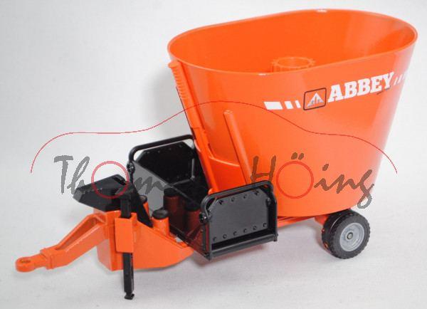 00701 IE ABBEY VF1250FD Futtermischwagen, orange/schwarz, ABBEY / since 1947, L16nmp (Limited)
