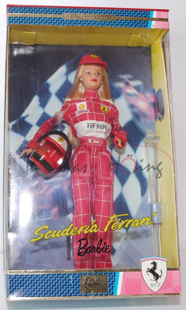 Scuderia Ferrari Barbie Doll Rot Bekleidet Mit Rennoveral Ferrari Shell Bridgestone Fedex Produktarchiv Online Shop Automodelle Höing
