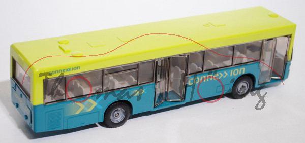 00301 Linienbus Mercedes O 405 N, leuchtgrün/wasserblau, connexxion und connexxion / openbaar vervoe