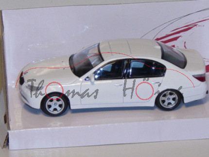 BMW 5er, weiß, MondoMotors, 1:43, mb