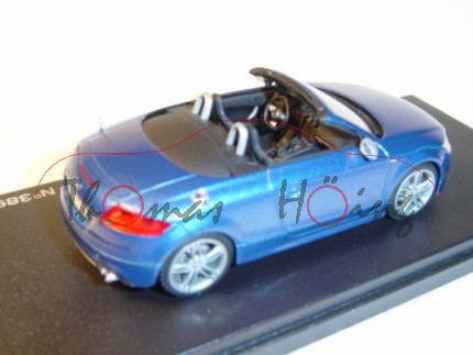 Audi TTS Roadster, Mj. 07, sprintblau, Looksmart, 1:43, Werbeschachtel (limitierte Auflage 500 Stück