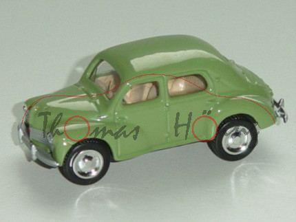 Renault 4 1946, blaßgrün, 1:54, Norev RETRO, mb