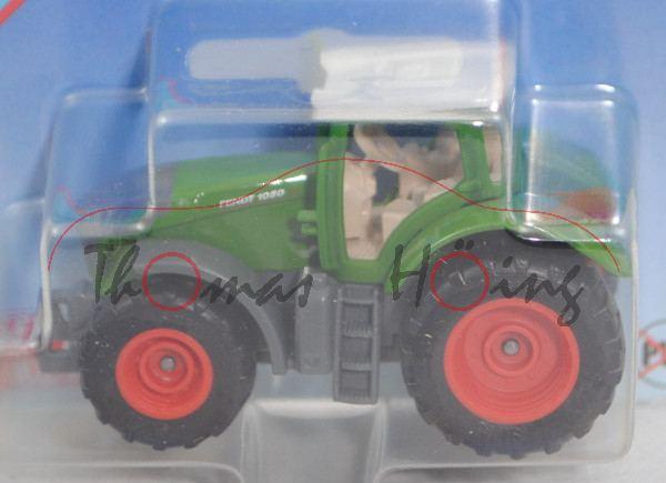 00000 Fendt 1050 Vario Traktor (Mod. 2018-), reinweiß/hell-grasgrün/hell-eisengrau, SIKU, P29e