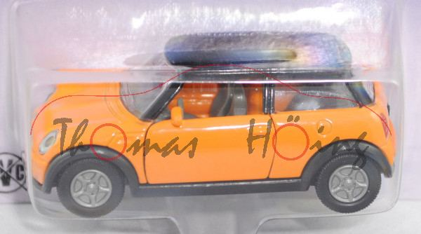 00401 MINI Cooper (Hatchback, Typ R50, 1. Generation, Modell 2001-2006), orange/schwarz, P26 Limited
