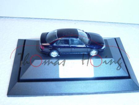 Audi A4, schwarz, Mj 99, IN-C 3911, 1998-2003 5 Jahre Klimaanlagenerprobung mit CO2, Rietze, 1:87, m