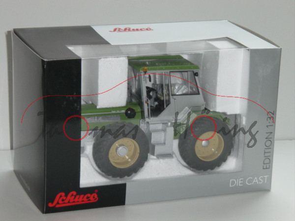 Schlüter Super Trac 2500 VL, grün/silber, Schuco, Limited Edition, 1:32, mb