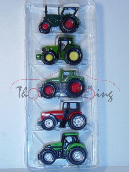 Geschenkset bestehend aus: 0861(blaugrün)+1009(smaragdgrün)+0858(resedagrün)+0847(rot)+0859(gelbgrün