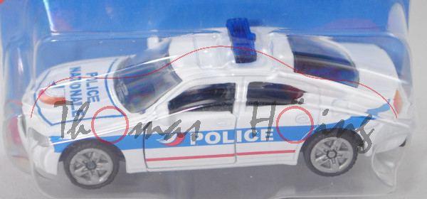 00100 F Dodge Charger SXT 3.5L V6 (6. Gen., Mod. 2005-2010) Police Car, weiß, POLICE, P29e (Limited)