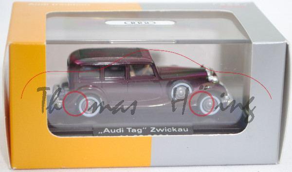8250113-horch-850-schokoladenbraun-audi-tag-zwickau-2004-wiking-187-werbeschachtel4
