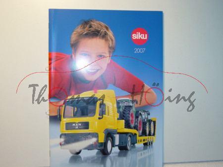 Siku-Katalog 2007, DIN-A4