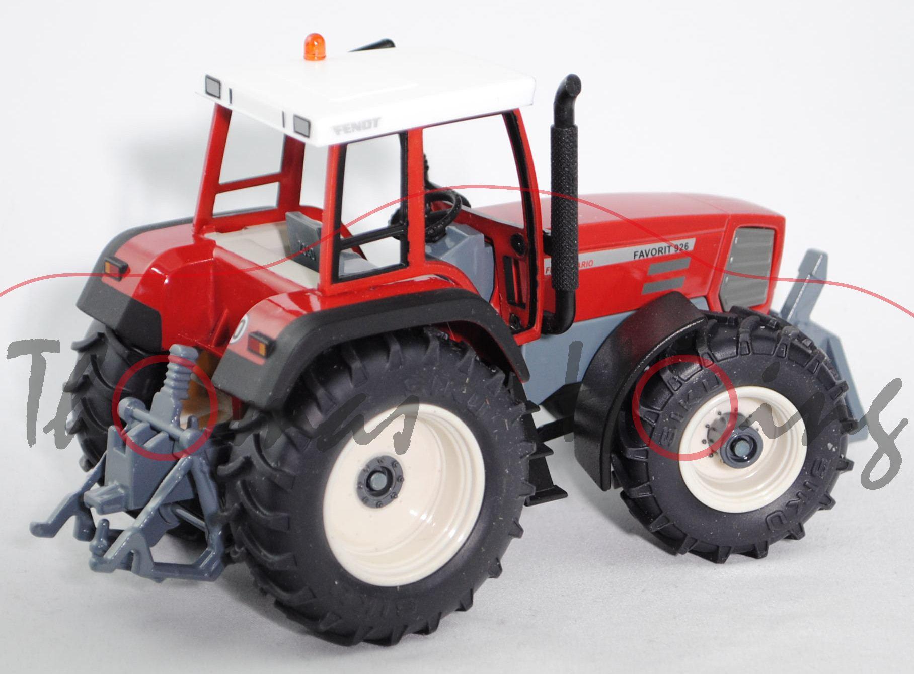 Fendt Favorit 926 Vario Traktor Modell 1996 2000 reinweiß
