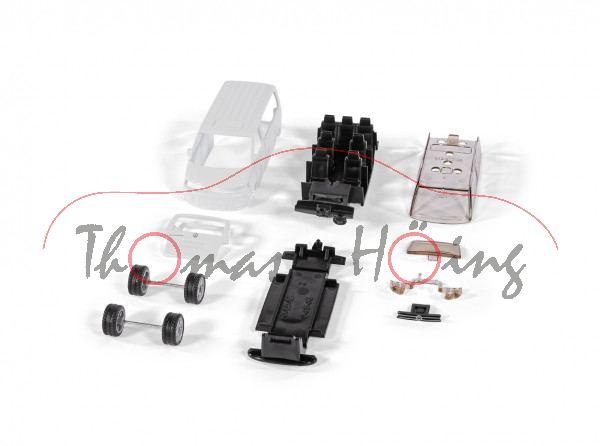 00000 Bastelset VW T5 facelift Transporter (Mod. 09-15) Schneemann, weiß, mb (Limited) (ab 09/21 da)