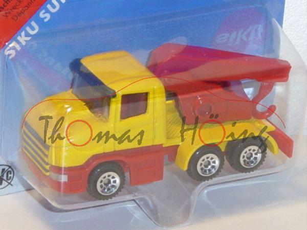 00002 Scania CT14 (Typ Serie 4, T-Fahrerhaus, Basis, Modell 1995-2004) Abschleppwagen, signalgelb/ve