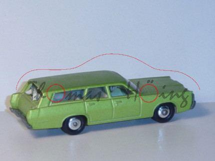 Mercury Station Wagon, hell-gelbgrünmetallic, 2 Hunde im Kofferraum, Matchbox Series