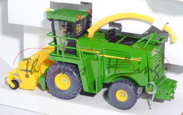John Deere 7400 Grashäcksler 630 A, smaragdgrün/gelb, L17P