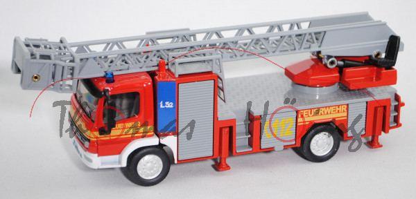 00000 ROSENBAUER L32 auf Mercedes-Benz Atego 1828 (LKN Facelift, Modell 04-05) Feuerwehr-Drehleiter