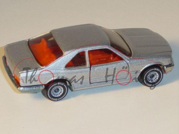 00002 Mercedes-Benz 500 SEC (Baureihe C 126, Baumuster 126.044, Modell 1981-1985), silbergraumetalli