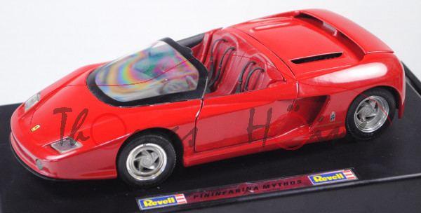 Ferrari Mythos (Typ Roadster, Design Pininfarina, Modell 1989), rosso corsa, Revell, 1:18, mb