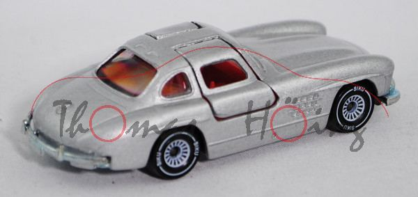 00000 Mercedes-Benz 300 SL (Baureihe W 198, Baumuster 198.040, Modell 1954-1957), silbergraumetallic