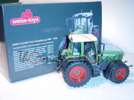 Fendt FAVORIT 515 C (Ausführung ab 1995), resedagrün/grau, mit Frontgewicht, weise-toys, 1:32, mb