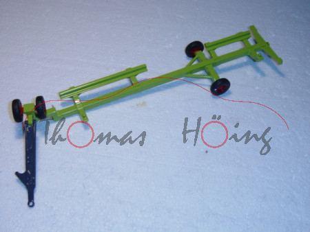 Anhänger für Mähwerk vom Claas Lexion 600 Mähdrescher Nr. 4253, claasgrün/grau