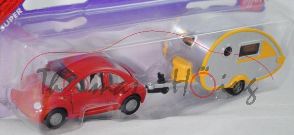 00000b VW New Beetle 2.0 (Typ 9C, Mod. 98-01) mit Wohnanhänger Knaus Tabbert T@B 320 RS (Mod. 02-),