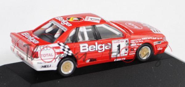 Audi V8 quattro Evo2 DTM (Typ R6, Modell 1991-1992), rot/weiß, Belgian Procar Championship Saison 19