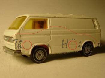 VW Transporter 2,0 Liter (Typ T3), Modell 1979-1982, weiß, o.K., IE gelb, R11