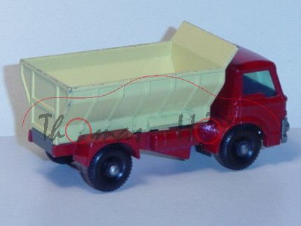 Ford Grit Spreader, hell-karminrot/blaßgelb, Matchbox Series