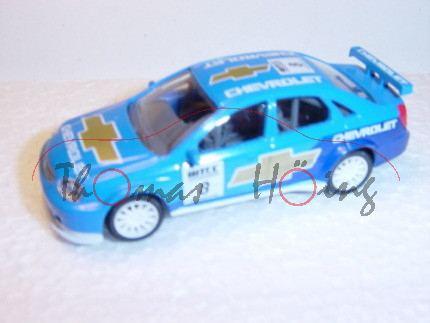 Chevrolet WTCC, lichtblau, CHEVROLET, Nr. 8, Norev Racing, 1:50, mb