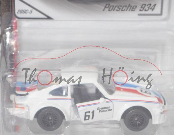 Porsche 934 oder Porsche Turbo RSR, weiß, 24h-Rennen von Daytona 1977, Gregg / Busby, Nr. 61, mb