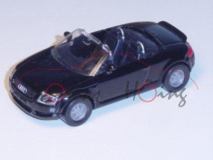 Audi TT Roadster 1.8 T quattro (Typ 8N), Modell 1999-2006, schwarz, Bpr. 225 PS, ohne Verdeck