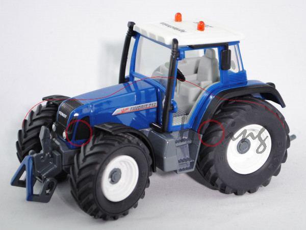 Fendt Favorit 712 Vario Traktor (Modell 1999-2003) und Fendt 920 Vario TMS Traktor (Modell 2002-2006