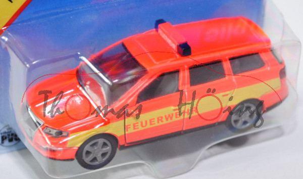 00401 VW Passat Variant 2.0 FSI (B6, Typ 3C, Modell 05-10), leuchthellrot, FEUERWEHR, P29a (Limited)