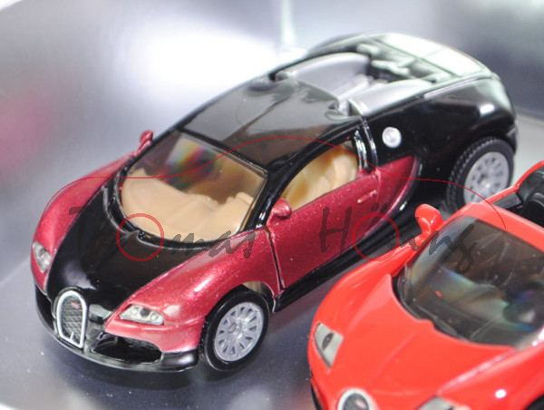 00700 bugatti-set 1: eb 16.4 veyron + eb 16.4 veyron grand sport
