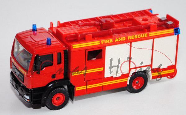 00600 GB HLF 20 MAN TGA 18.460 M (Mod. 2000-2004) Feuerwehr (Rosenbauer), rot, FIRE AND RESCUE