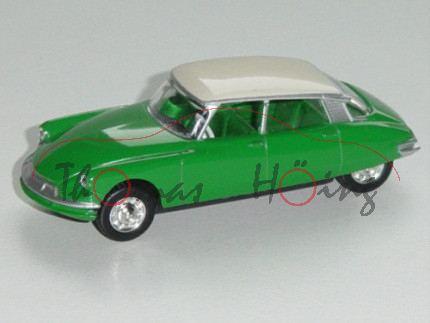 Citroen DS, Modell 1955-1962, minzgrün, Dach perlweiß, 1:58, Norev RETRO, mb