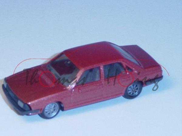 Audi 100 GL 5E, Typ 43, Mj. 1976, kupferbraunmetallic, Herpa, 1:87