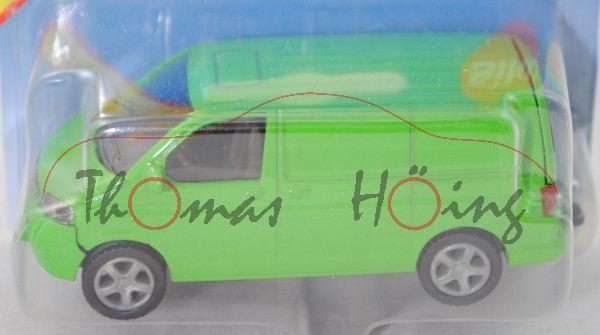 00413 VW T5 Transporter (Typ 7H, Modell 2003-2009), gelbgrün, P29a (Sondermodell Siku Museum)