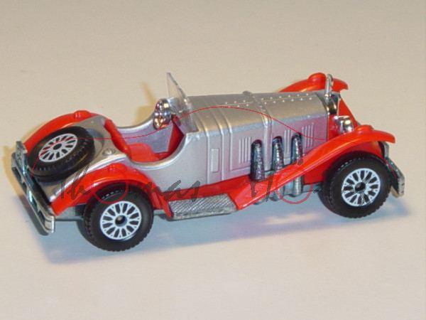 Mercedes-Benz SSK Typ 27 / 170 / 225 PS (Baumuster W 06 III, Modell 1928-1930), silbergraumetallic/b