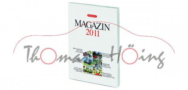 WIKING MAGAZIN 2011, Themen: Käfer-Legende lebt; Feuerwehr-Gigant; Maßstab 1:32, 52 Seiten, DIN-A4