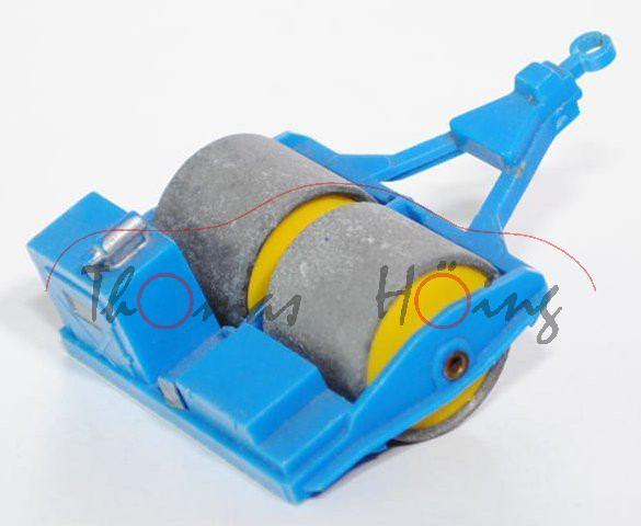 Zettelmeyer Vibrationswalze, himmelblau, Deichsel mit Spaltbruch