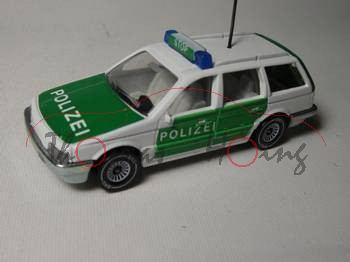 VW Passat Variant (B3, Typ 35i) Polizei-Lautsprecherwagen, Modell 1988-1993, Germ, B4