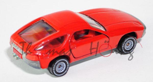 Porsche 928, Modell 1977-1982, verkehrsrot, Glas rauch, B4