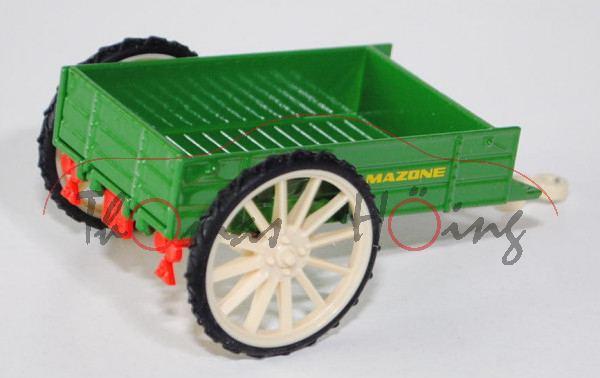 Ein-Achs-Anhänger, smaragdgrün/hellelfenbein, AMAZONE, L17P