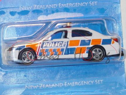 80400 NZD New Zealand Emergency Set, bestehend aus 0805-NZ Mercedes Sprinter Krankenwagen, reinweiß,